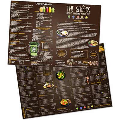 shack cafe menu